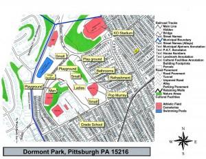 Dormont Park Map
